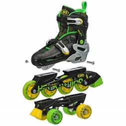 Roller Derby - Flux Boys 2in1 Inline or Quad Size Adjustable