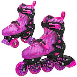 VNLA Code Red Kids/Adult Jam Skates | Quad Roller Skates for
