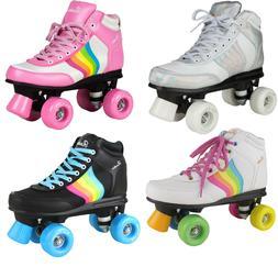 Rookie Forever Damen-Rollschuhe Kids Roller Skates Rollerska