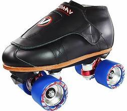 VNLA Freestyle Blue Deluxe Quad Speed Roller Skates Men Size
