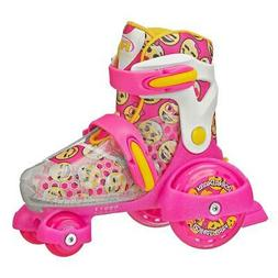 Roller Derby Girl's Fun Roll Adjustable Roller Skate, Small