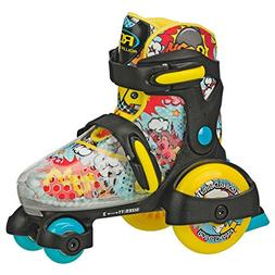 Roller Derby Fun Roll Boy's Jr Adjustable Roller Skate, Smal