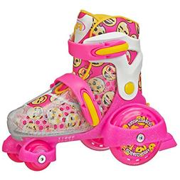 Roller Derby Girl's Fun Roll Adjustable Roller Skate, Small