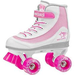 Roller Derby Girls' FireStar Roller Skates White/Pink