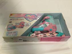 Girls Ladies Glam Pro Skates Adjustable Roller Blades Flying