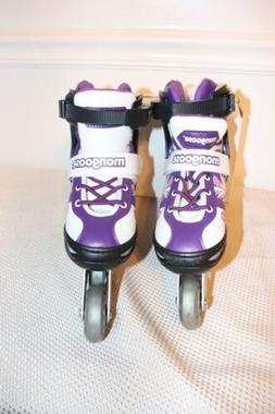 mongoose Girls roller skates Size 1-4