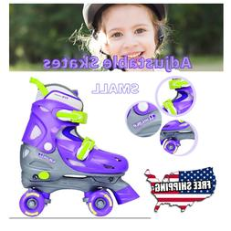 Girls Small Adjustable Quad Skate, Chicago Kids RollerSkates