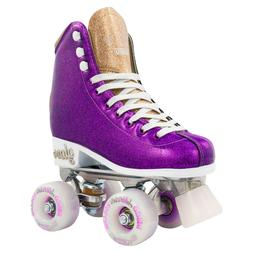 Glam Roller Skates by Crazy Skates | Girls Glitter Quad Roll