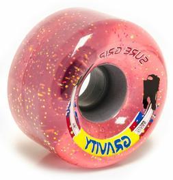 Glitter Gravity Outdoor Roller Skate Wheels 78A  65mm X 35mm