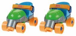 Fisher-Price Grow with Me 1,2,3 Roller Skates, Green