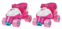 Fisher-Price Grow With Me 1,2,3 Roller Skates - Pink, Size 9
