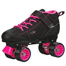 Pacer GTX 500 Roller Skates Black and Pink Men 4 Ladies 5