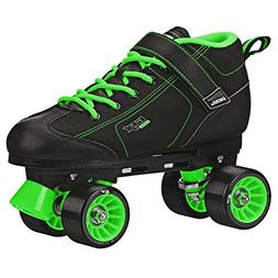 GTX-500 Black and Lime Roller Skates