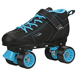 GTX-500 Black and Teal Roller Skates