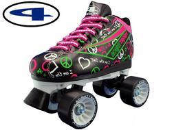 Pacer Heart Throb Speed Skates size 2