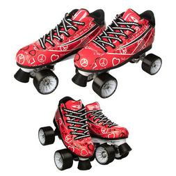 Pacer Heart Throb Speed Style Roller Skates For Women Girls