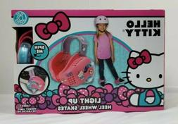 Hello Kitty Fun Wheels Light Up Wheels Hook And Loop Straps