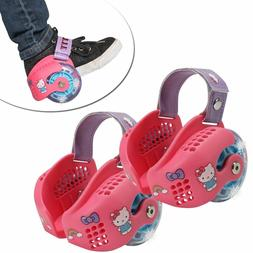 hello kitty light up heel wheel skates