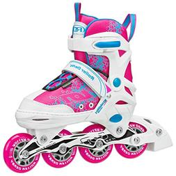 Roller Derby I145-S Girls ION 7.2 Adjustable Inline Skate, S