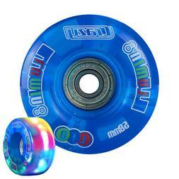 illumin8 LED Light Up Roller Skate Quad Wheels Speed Derby B