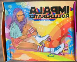 Impala Quad Roller Skates Vegan - Holographic US Size 9  *NE