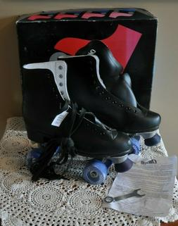 Chicago Roller Skates Indoor Rink Mens Size 9  Black CRS405