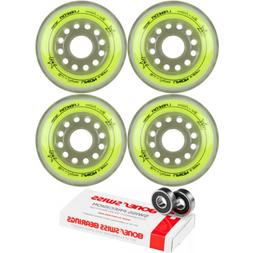 Labeda Inline Roller Hockey Skate Wheels Union Yellow 72mm S