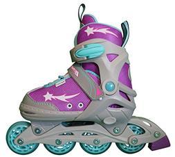 Lenexa Inline Skates for Girls with Adjustable Sizing Athena