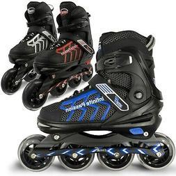 Eliiti Inline Skates for Men Women Size 7 8 9 10 11 Adjustab