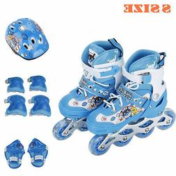 Inline Skates Girls Boys Roller Blades Kids Child Roller Bla
