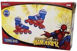 Inline Skates Mondo Spiderman Medium Size 2 - 4 Boys Outdoor
