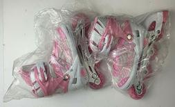 Inline Skates Rollerblade Kids Girls Pink Sz M Fitness Skate
