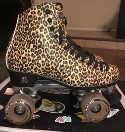Moxi Ivy Jungle Leopard Roller Skates Size US Men 9 / US Wom
