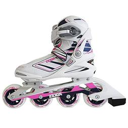 Roces 400802 Women's Model IZI Fitness Inline Skate, US 7, W