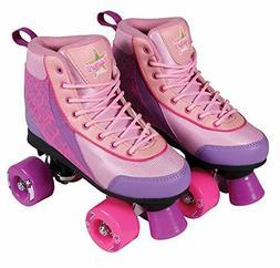Kandy Skates Pure Passion Pink & Purple Roller Skates Size 1