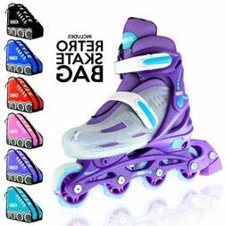 Crazy Skates | Kids Girls Ladies Size Adjustable Inline Roll