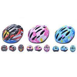 Kids Inline Roller Skates Helmet Bike Head Hat Scooter Cycli