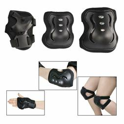 Kids Knee Pad Elbow Pads Guards Protective Gear Set for Roll