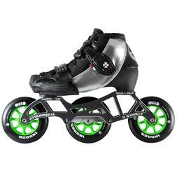 Luigino Kids Mini Challenge Silver 3 Wheel Adjustable Indoor