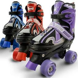 Eliiti Kids Quad Roller Skates for Girls and Boys Adjustable