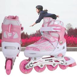 Kids Roller Skates for Girls boys Quad Skate for Indoor or O