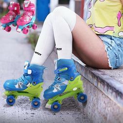 Kids Roller Skates PP and PVC Wheel Indoor Outdoor Children