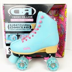 Roller Derby Kid's Size 12-2 Adjustable Quad Roller Skates