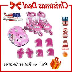 Kids Training Adjustable Skates Combo Perfect First Inline R
