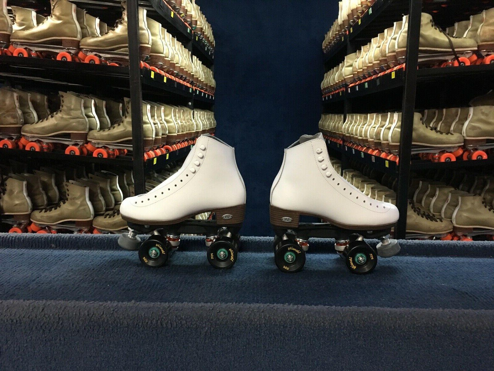 Riedell 120 Artistic Package Leather Roller Skates