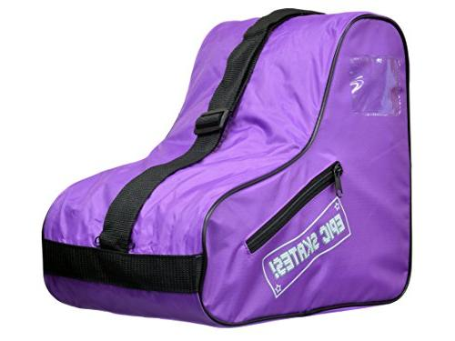 Epic Skates Standard Purple Skate Bag, One Size