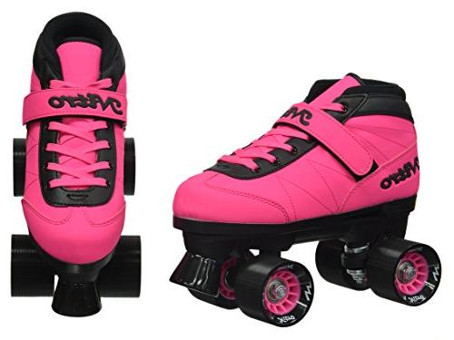 New! Nitro Turbo Outdoor Quad Roller Skates Bundle