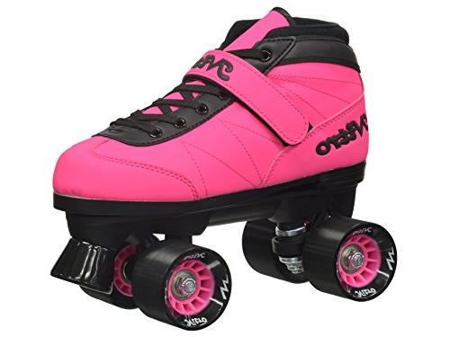New! 2016 Epic Turbo Pink Outdoor Roller Skates