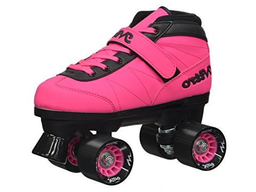 New! Turbo Indoor Outdoor Roller Skates Bundle