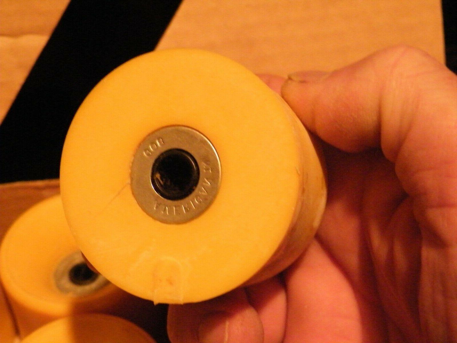 "8 Jumbo Wheels 5/16"" axle Urethane Skateboard"